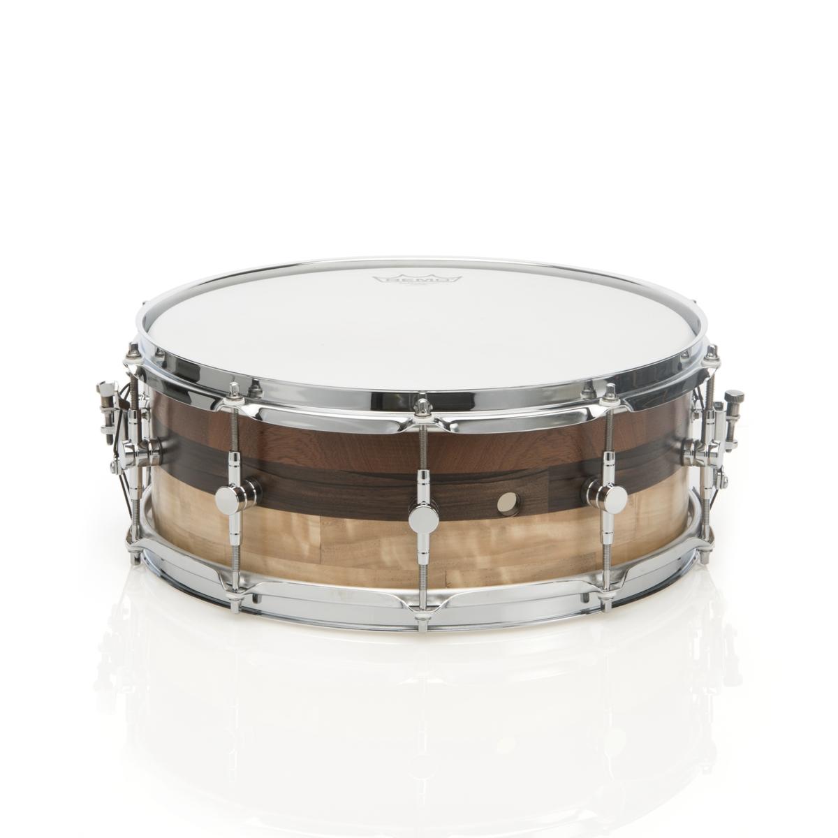 """DrumMa - Rullante 14x5,5"""" - pioppo/ebano/mogano - 550 €"""